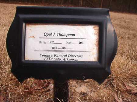 THOMPSON, OPAL J - Union County, Arkansas | OPAL J THOMPSON - Arkansas Gravestone Photos