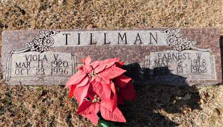 TILLMAN, EARNEST W - Union County, Arkansas | EARNEST W TILLMAN - Arkansas Gravestone Photos