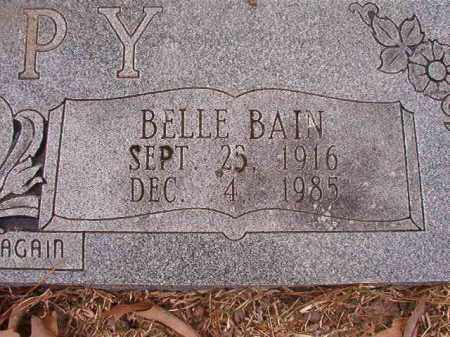 BAIN TIPPY, BELLE - Union County, Arkansas | BELLE BAIN TIPPY - Arkansas Gravestone Photos