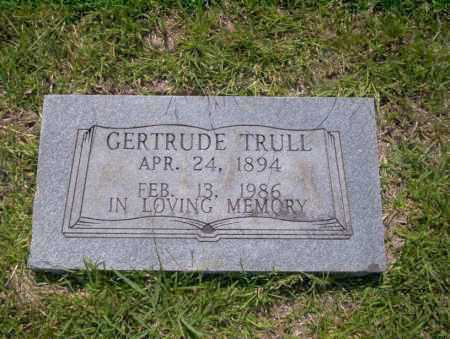 TRULL, GERTRUDE - Union County, Arkansas | GERTRUDE TRULL - Arkansas Gravestone Photos
