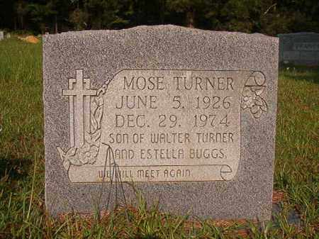 TURNER, MOSE - Union County, Arkansas | MOSE TURNER - Arkansas Gravestone Photos