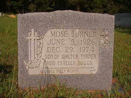 TURNER, MOSE - Union County, Arkansas | MOSE TURNER - Arkansas Gravestone Photos