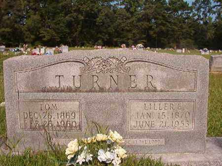 TURNER, LILLER E - Union County, Arkansas | LILLER E TURNER - Arkansas Gravestone Photos