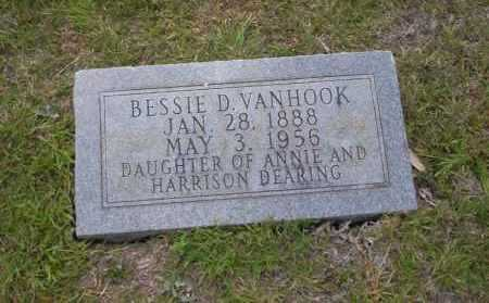 VANHOOK, BESSIE D. - Union County, Arkansas | BESSIE D. VANHOOK - Arkansas Gravestone Photos