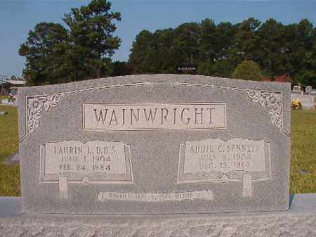 BENNETT WAINWRIGHT, ADDIE C - Union County, Arkansas | ADDIE C BENNETT WAINWRIGHT - Arkansas Gravestone Photos