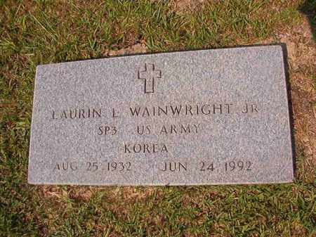 WAINWRIGHT (VETERAN KOR), LAURIN L - Union County, Arkansas | LAURIN L WAINWRIGHT (VETERAN KOR) - Arkansas Gravestone Photos