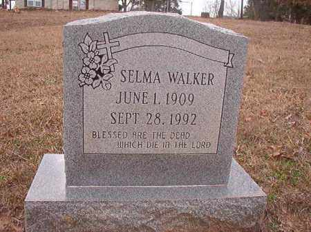 WALKER, SELMA - Union County, Arkansas | SELMA WALKER - Arkansas Gravestone Photos