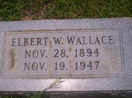 WALLACE, ELBERT W - Union County, Arkansas | ELBERT W WALLACE - Arkansas Gravestone Photos