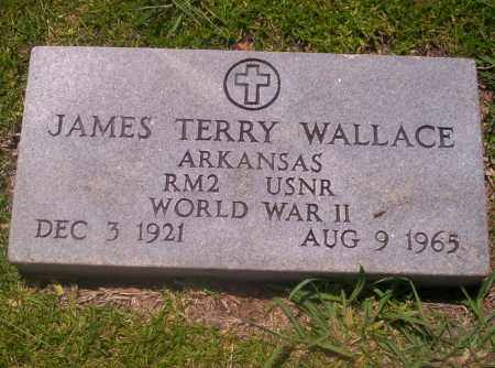 WALLACE (VETERAN WWII), JAMES TERRY - Union County, Arkansas | JAMES TERRY WALLACE (VETERAN WWII) - Arkansas Gravestone Photos
