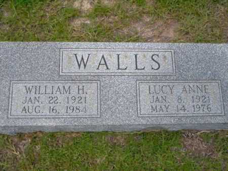 WALLS, LUCY ANNE - Union County, Arkansas | LUCY ANNE WALLS - Arkansas Gravestone Photos