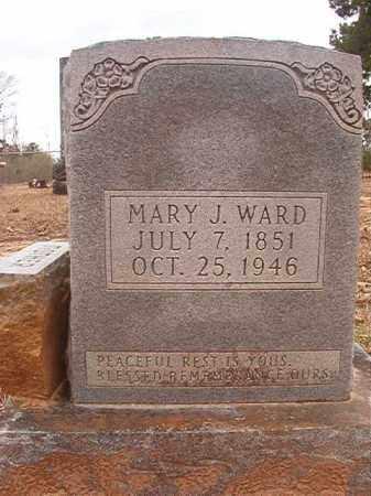WARD, MARY J - Union County, Arkansas | MARY J WARD - Arkansas Gravestone Photos