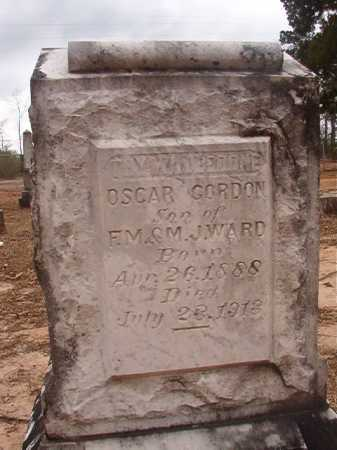 WARD, OSCAR GORDON - Union County, Arkansas | OSCAR GORDON WARD - Arkansas Gravestone Photos