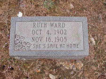 WARD, RUTH - Union County, Arkansas | RUTH WARD - Arkansas Gravestone Photos