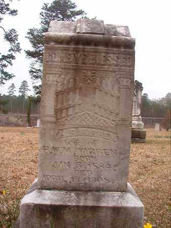 WARREN, H R - Union County, Arkansas | H R WARREN - Arkansas Gravestone Photos