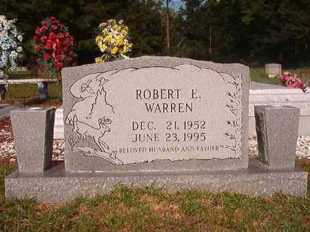 WARREN, ROBERT E - Union County, Arkansas | ROBERT E WARREN - Arkansas Gravestone Photos