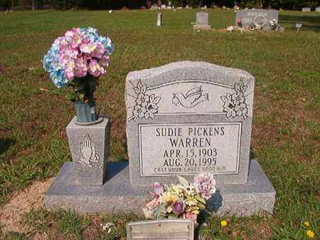 WARREN, SUDIE - Union County, Arkansas | SUDIE WARREN - Arkansas Gravestone Photos