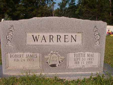 WARREN, TOTTIE MAE - Union County, Arkansas | TOTTIE MAE WARREN - Arkansas Gravestone Photos