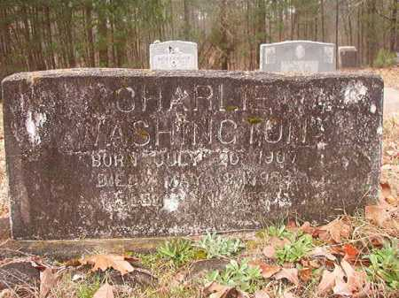 WASHINGTON, CHARLIE - Union County, Arkansas | CHARLIE WASHINGTON - Arkansas Gravestone Photos