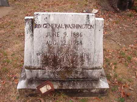 WASHINGTON, REV, GENERAL - Union County, Arkansas | GENERAL WASHINGTON, REV - Arkansas Gravestone Photos