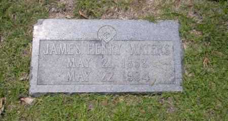 WATERS, JAMES HENRY - Union County, Arkansas | JAMES HENRY WATERS - Arkansas Gravestone Photos