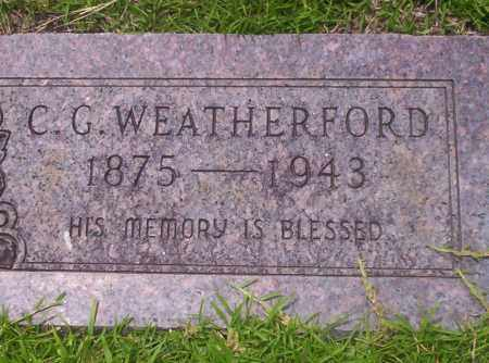WEATHERFORD, C.G. - Union County, Arkansas | C.G. WEATHERFORD - Arkansas Gravestone Photos