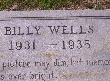 WELLS, BILLY - Union County, Arkansas | BILLY WELLS - Arkansas Gravestone Photos