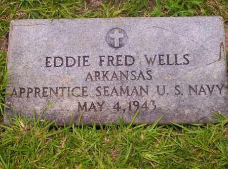 WELLS (VETERAN), EDDIE FRED - Union County, Arkansas | EDDIE FRED WELLS (VETERAN) - Arkansas Gravestone Photos