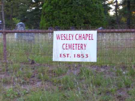 *WESLEY CHAPEL OVERVIEW,  - Union County, Arkansas |  *WESLEY CHAPEL OVERVIEW - Arkansas Gravestone Photos
