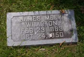 WHARTON, JAMES MEEK - Union County, Arkansas | JAMES MEEK WHARTON - Arkansas Gravestone Photos