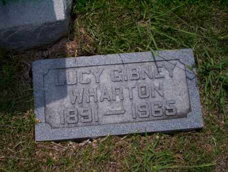 WHARTON, LUCY - Union County, Arkansas | LUCY WHARTON - Arkansas Gravestone Photos