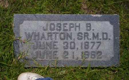 WHARTON, SR. M.D., JOSEPH B. - Union County, Arkansas | JOSEPH B. WHARTON, SR. M.D. - Arkansas Gravestone Photos