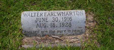 WHARTON, WALTER EARL - Union County, Arkansas | WALTER EARL WHARTON - Arkansas Gravestone Photos