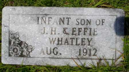 WHATLEY, INFANT SON - Union County, Arkansas | INFANT SON WHATLEY - Arkansas Gravestone Photos