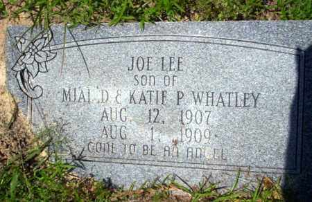 WHATLEY, JOE LEE - Union County, Arkansas | JOE LEE WHATLEY - Arkansas Gravestone Photos