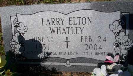 WHATLEY, LARRY ELTON - Union County, Arkansas | LARRY ELTON WHATLEY - Arkansas Gravestone Photos