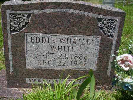 WHITE, EDDIE WHATLEY - Union County, Arkansas | EDDIE WHATLEY WHITE - Arkansas Gravestone Photos
