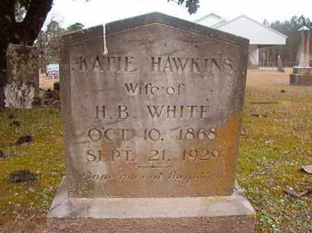 HAWKINS WHITE, KATIE - Union County, Arkansas | KATIE HAWKINS WHITE - Arkansas Gravestone Photos