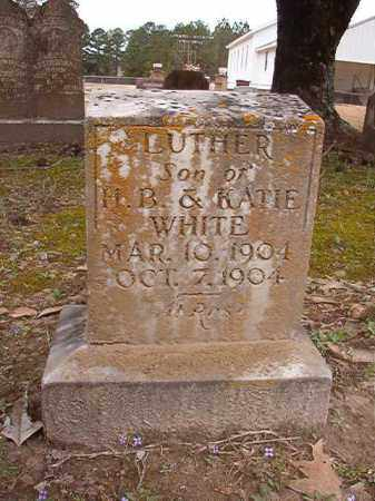 WHITE, LUTHER - Union County, Arkansas | LUTHER WHITE - Arkansas Gravestone Photos