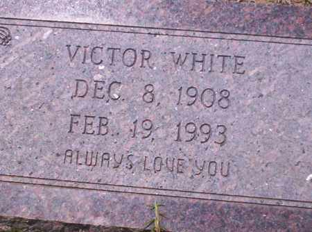 WHITE, VICTOR - Union County, Arkansas | VICTOR WHITE - Arkansas Gravestone Photos