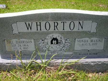 WHORTON, BILL HARRISON - Union County, Arkansas | BILL HARRISON WHORTON - Arkansas Gravestone Photos