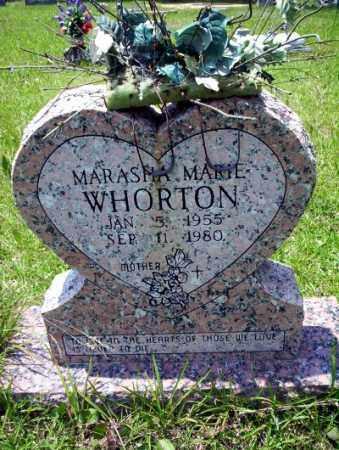 WHORTON, MARASHA MARIE - Union County, Arkansas   MARASHA MARIE WHORTON - Arkansas Gravestone Photos