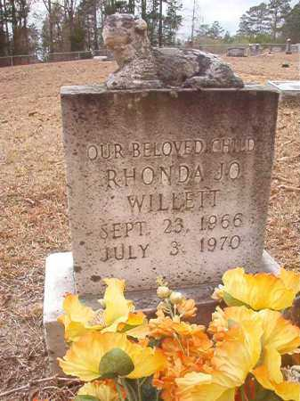 WILLETT, RHONDA JO - Union County, Arkansas | RHONDA JO WILLETT - Arkansas Gravestone Photos