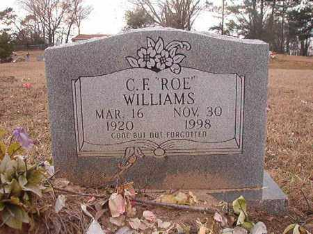 "WILLIAMS, C F ""ROE"" - Union County, Arkansas 