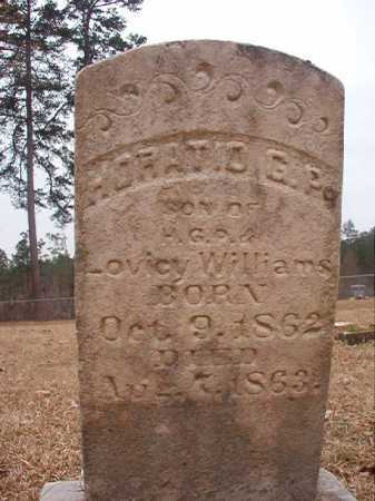WILLIAMS, HORATIO G P - Union County, Arkansas | HORATIO G P WILLIAMS - Arkansas Gravestone Photos