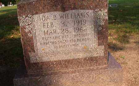 WILLIAMS, IDA B - Union County, Arkansas | IDA B WILLIAMS - Arkansas Gravestone Photos