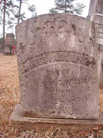 WILLIAMS, JAMES ADOLPHUS - Union County, Arkansas | JAMES ADOLPHUS WILLIAMS - Arkansas Gravestone Photos