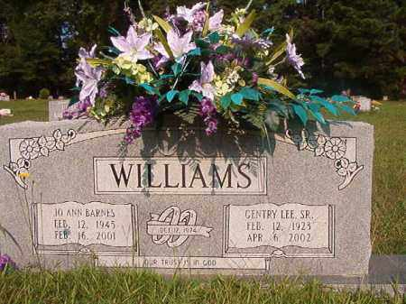 BARNES WILLIAMS, JO ANN - Union County, Arkansas | JO ANN BARNES WILLIAMS - Arkansas Gravestone Photos