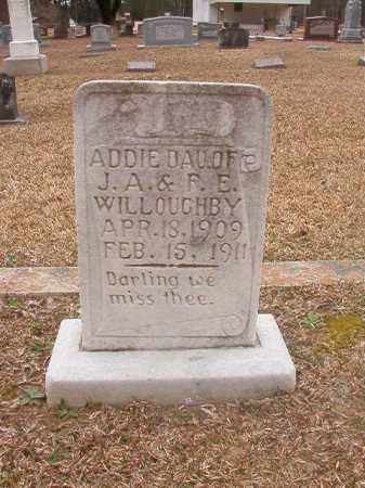 WILLOUGHBY, ADDIE - Union County, Arkansas | ADDIE WILLOUGHBY - Arkansas Gravestone Photos