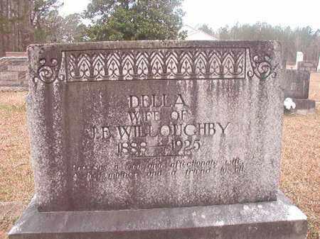 WILLOUGHBY, DELLA - Union County, Arkansas | DELLA WILLOUGHBY - Arkansas Gravestone Photos