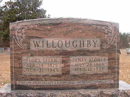 WILLOUGHBY, FLORA ELLEN - Union County, Arkansas | FLORA ELLEN WILLOUGHBY - Arkansas Gravestone Photos